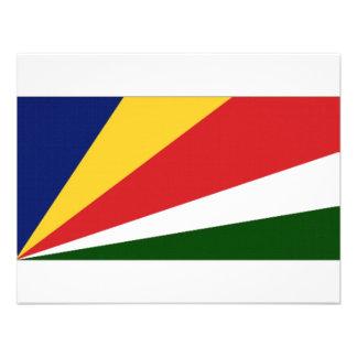 Seychelles National Flag Custom Invitations