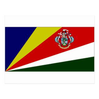 Seychelles President Flag Postcard