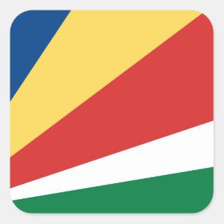 Seychelles Square Sticker