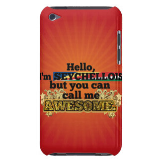 Seychellois, but call me Awesome iPod Case-Mate Cases