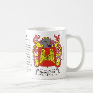 Seymour Family Coat of Arms Mug