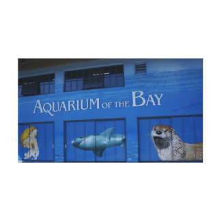 SF Aquarium of the Bay Canvas