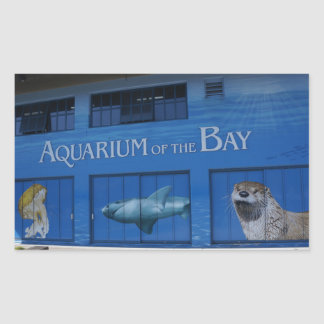 SF Aquarium of the Bay Stickers