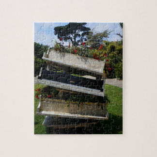 SF Botanical Garden Flower Piano Jigsaw Puzzle