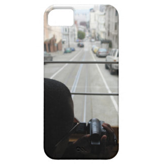 SF cable car street view iPhone 5 Cases
