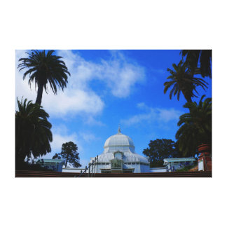 SF Conservatory of Flowers #2 Canvas