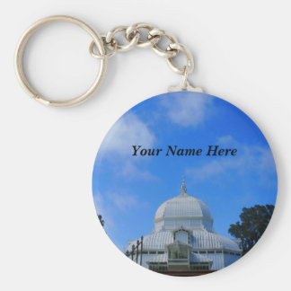 SF Conservatory of Flowers #2 Keychain