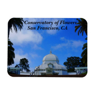 SF Conservatory of Flowers #2 Magnet