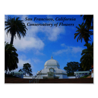 SF Conservatory of Flowers #2 Poster