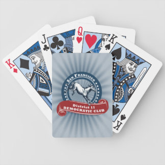 SF D11 Dems Playing Cards