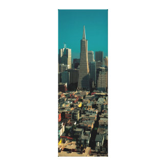 SF Downtown View - large canvas printing
