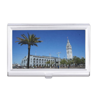 SF Ferry Building #2 Business Card Holder