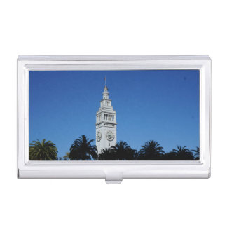 SF Ferry Building #4 Business Card Holder