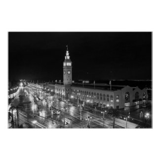 SF Ferry Building Print - Large