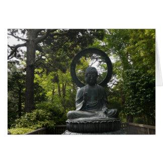 SF Japanese Tea Garden Buddha Greeting Card