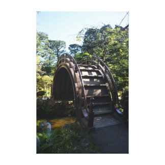 SF Japanese Tea Garden Drum Bridge Canvas