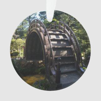 SF Japanese Tea Garden Drum Bridge Ornament
