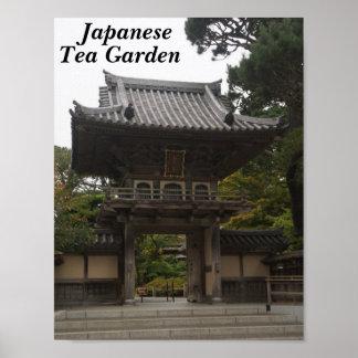 SF Japanese Tea Garden Entrance #2 Poster