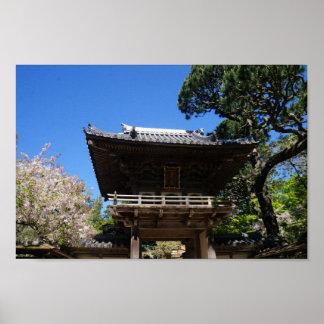 SF Japanese Tea Garden Entrance #3 Poster