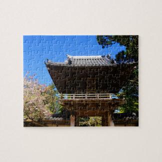 SF Japanese Tea Garden Entrance #4 Jigsaw Puzzle