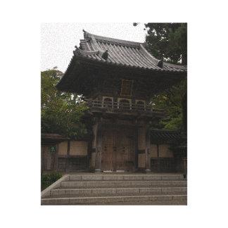 SF Japanese Tea Garden Entrance Canvas