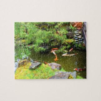 SF Japanese Tea Garden Koi Pond #3 Jigsaw Puzzle