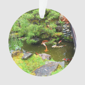 SF Japanese Tea Garden Koi Pond #3 Ornament