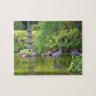 SF Japanese Tea Garden Pond #5 Jigsaw Puzzle