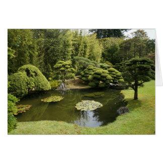 SF Japanese Tea Garden Pond Card