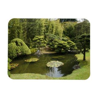 SF Japanese Tea Garden Pond Photo Magnet