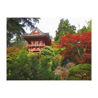 SF Japanese Tea Garden Temple Gate #3 Canvas