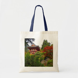 SF Japanese Tea Garden Temple Gate #3 Tote Bag