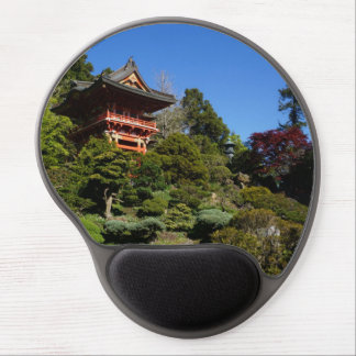 SF Japanese Tea Garden Temple Gate Gel Mousepad