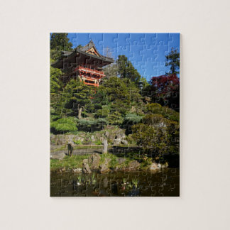 SF Japanese Tea Garden Temple Gate Jigsaw Puzzle