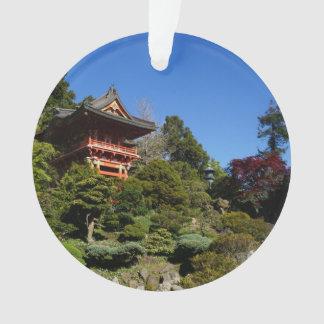 SF Japanese Tea Garden Temple Gate Ornament