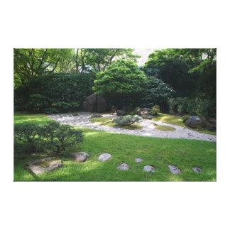 SF Japanese Tea Garden Zen Garden #2 Canvas