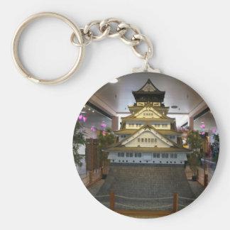 SF Japantown Osaka Castle Replica Keychain