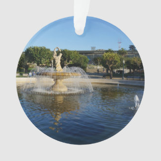 SF Rideout Memorial Fountain Ornament