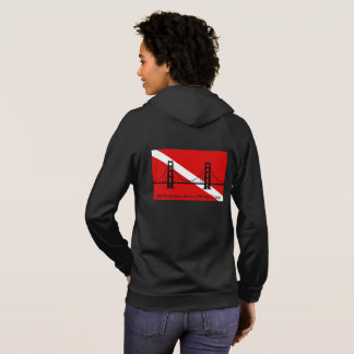 SF Scuba Diving Group Women's Zippered Hoodie