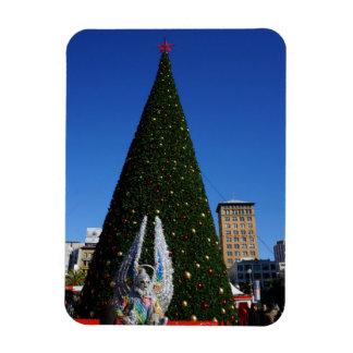 SF Union Square Christmas Tree Magnet