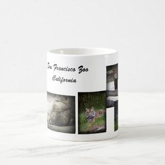 SF Zoo collage mug