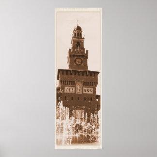 Sforza Castle Milano Posters