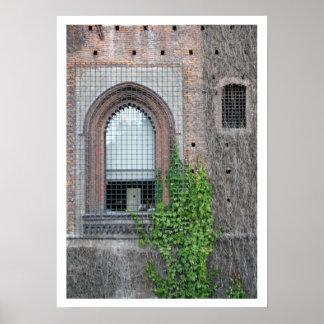 Sforza Window Detail Poster