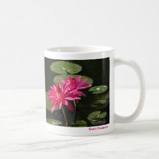 SG 2 Pink Water Lilies Mug newest  #4 00421