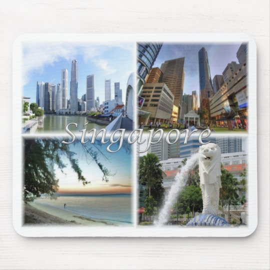 SG Singapore - Mouse Pad