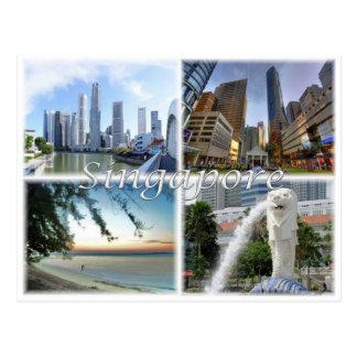 SG Singapore Postcard