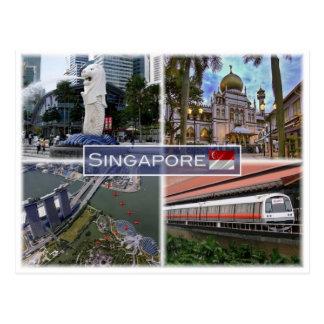 SG Singapore - Postcard