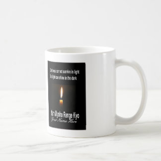 SGI Buddhist Mug - Words of Encouragement