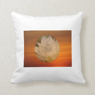 SGI Buddhist Throw Pillow