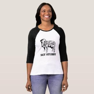 SGT STUBBY Womens Tshirt